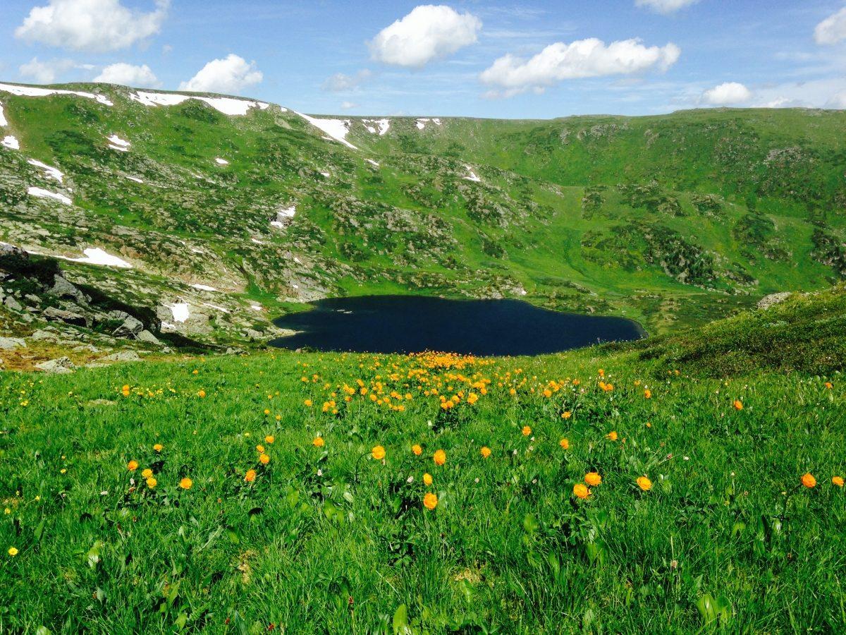 Bashtalinskie Lakes, Siberia