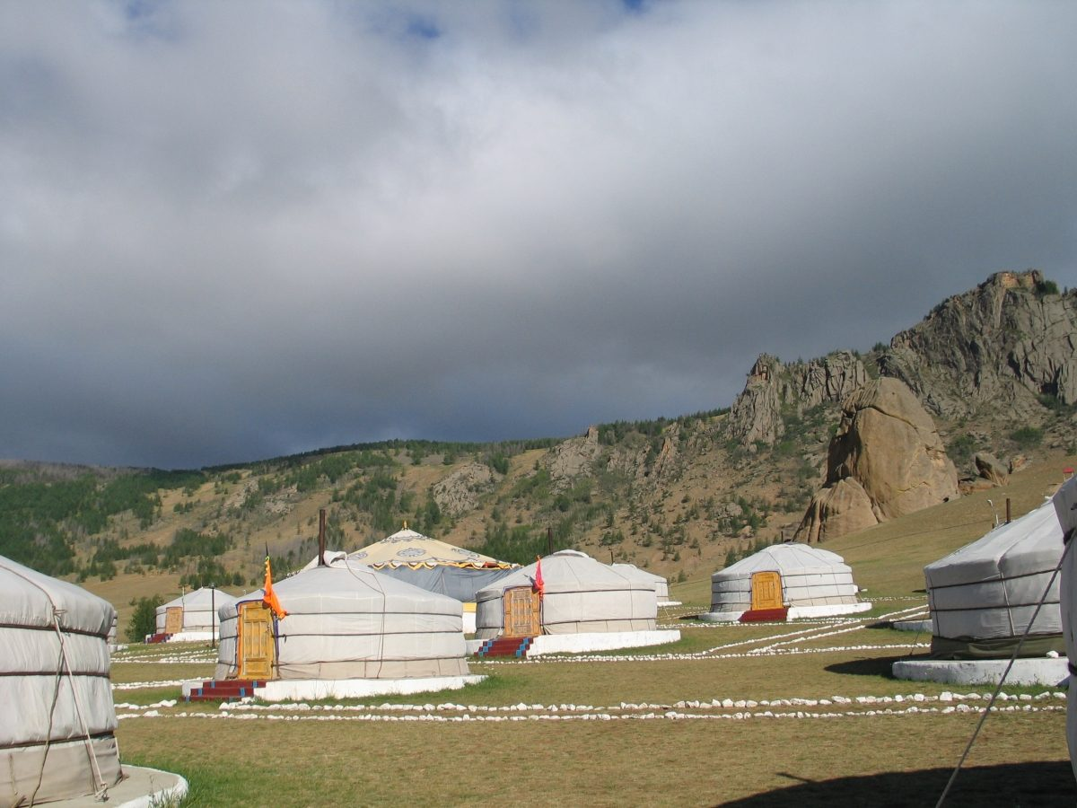 Yurt Camp, Mongolia