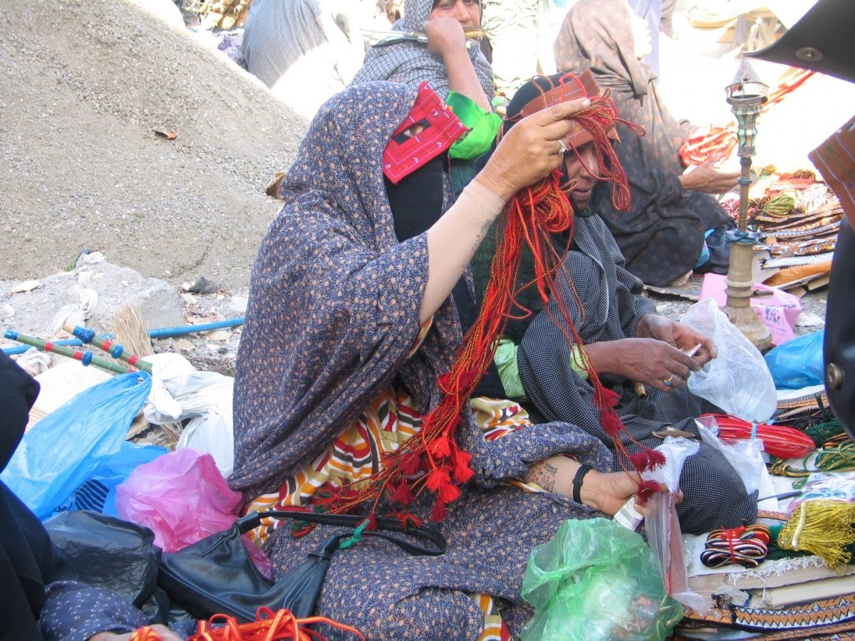 Minab market