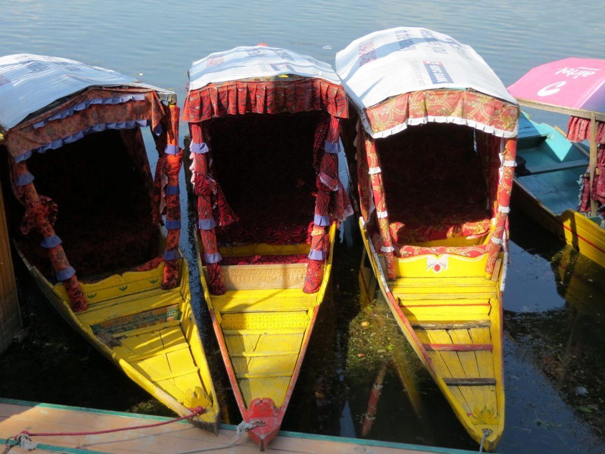 Dal Lake, Shikara, Kashmir