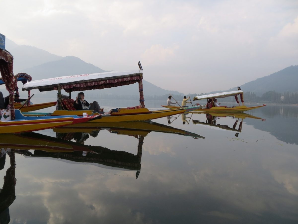 Water trek, Dal Lake, Kashmir
