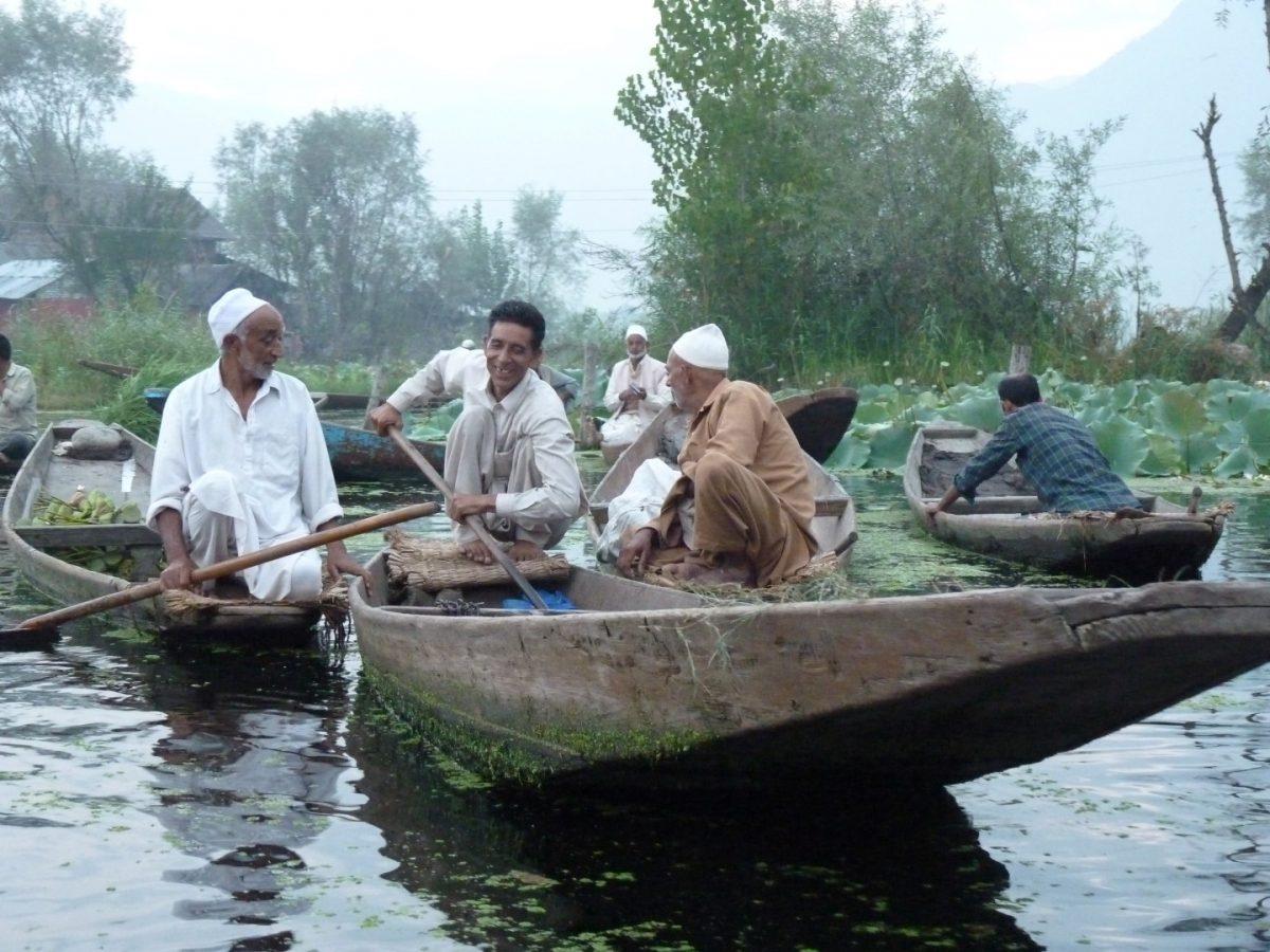 Market, Dal Lake, Kashmir
