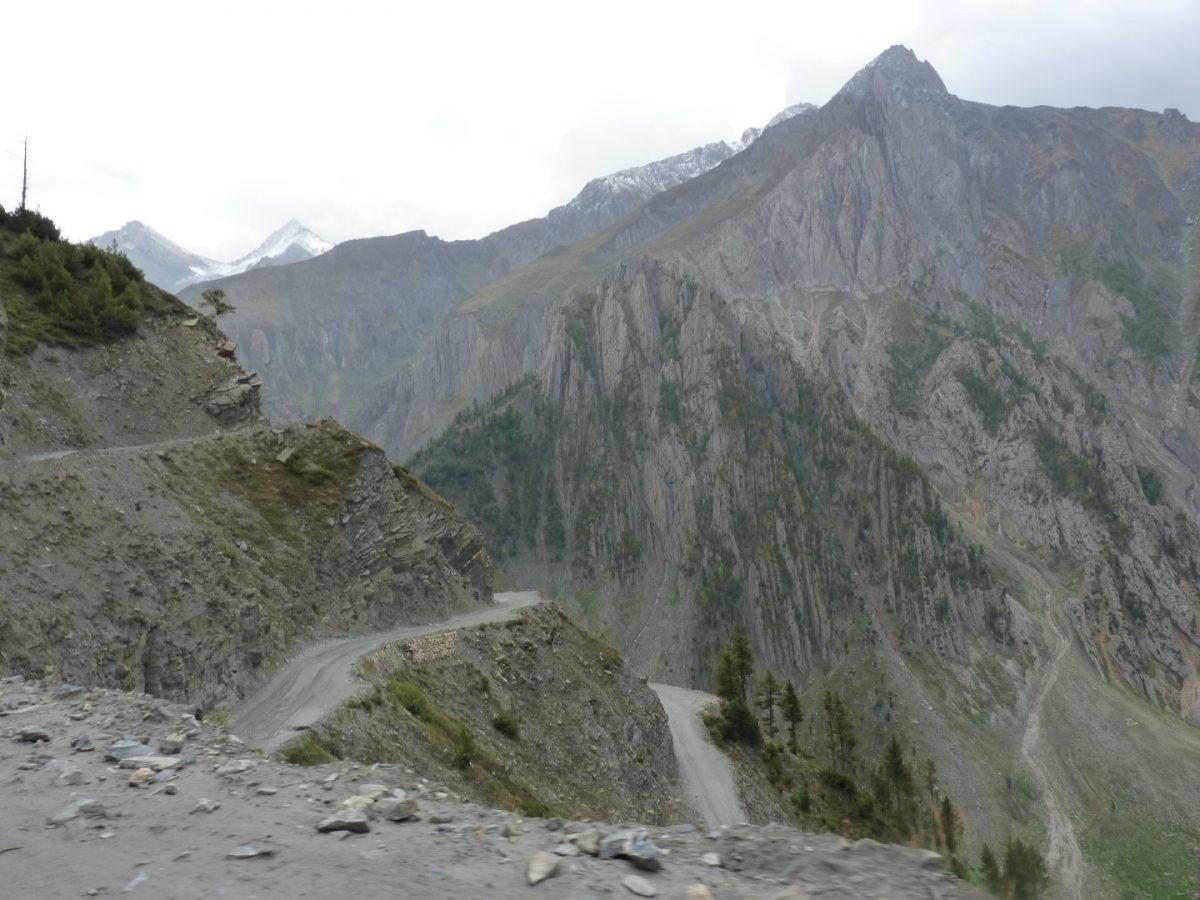 Kashmir to Ladakh