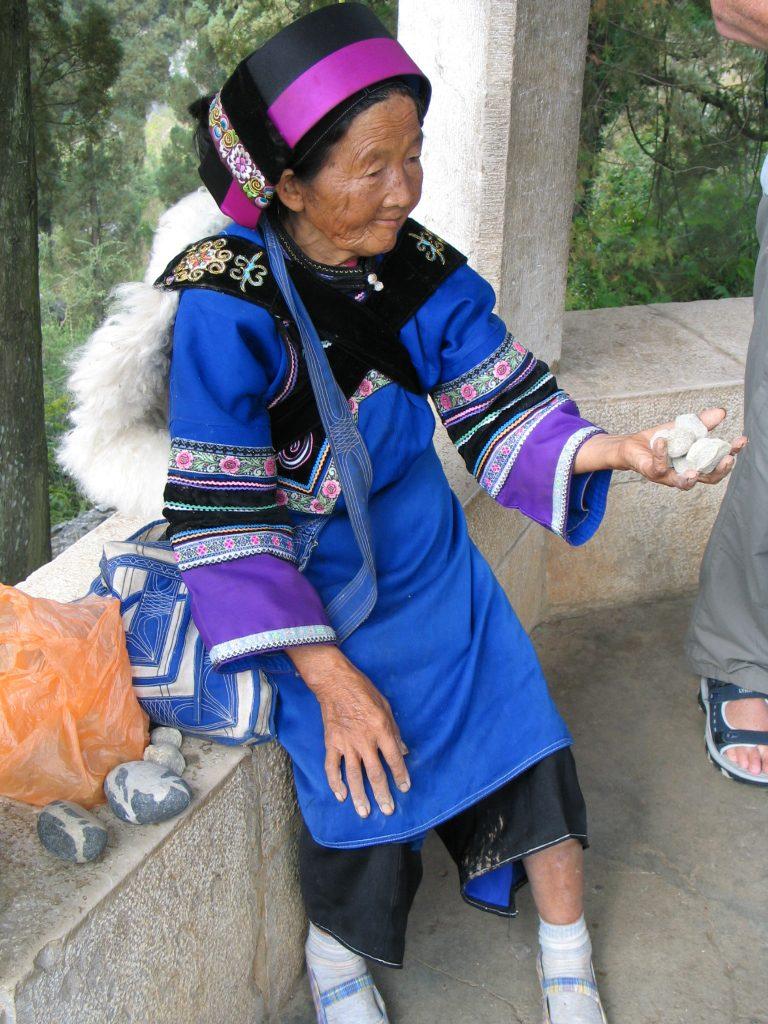 Yao lady, Kunming