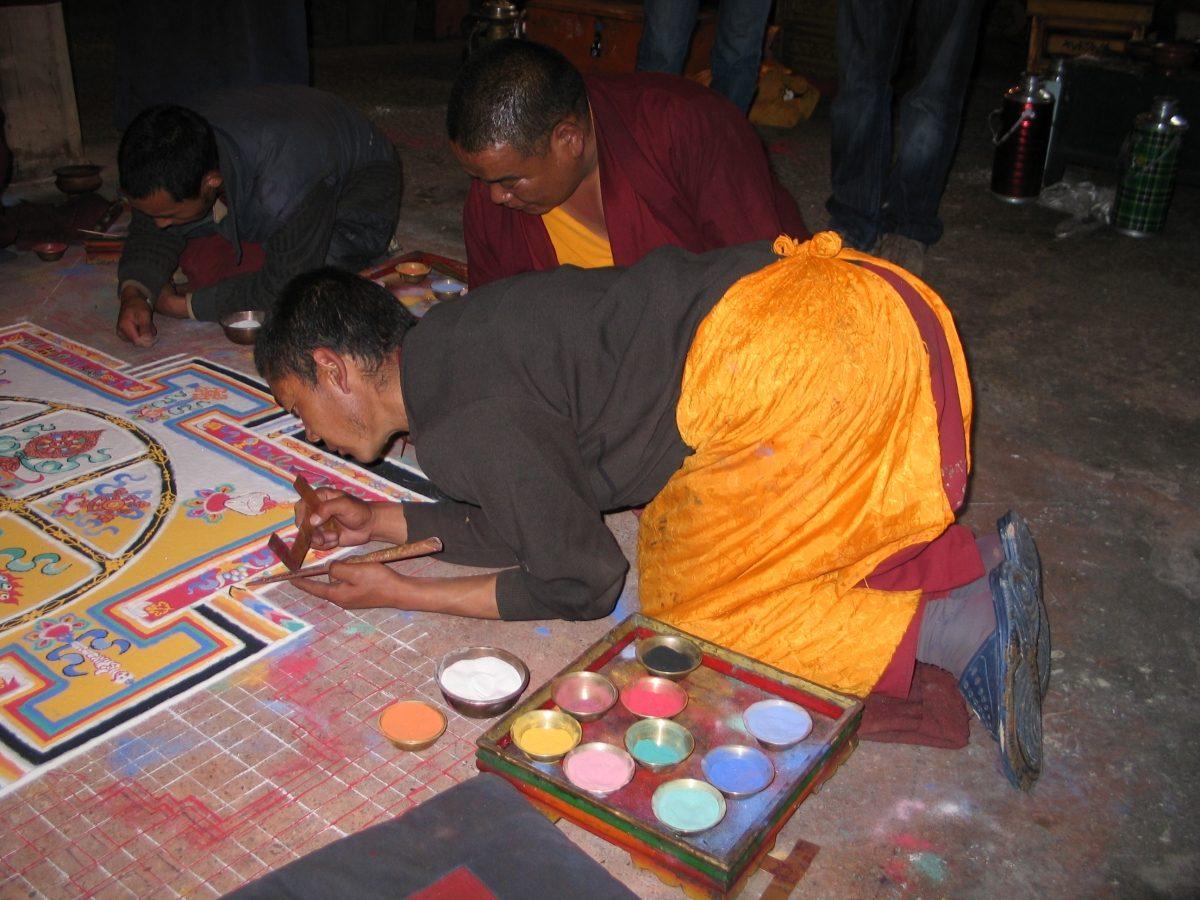 Sand Mandala, Tibet