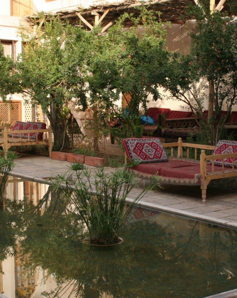 Ehsan House Courtyard Kashan
