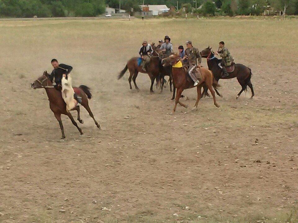 Kyrgyz horse games