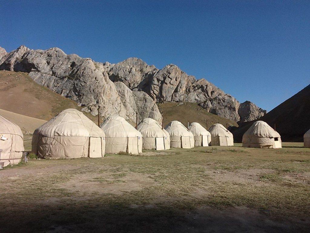 Tash Rabat yurt camp